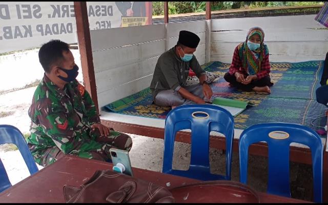 Tinjau Wilayah, Personel Jajaran Kodim 0208/Asahan Laksanakan Puldata Ter