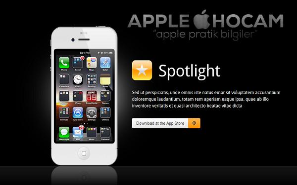 iphone spotlight
