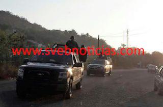 Balacera en Zihuatanejo Guerrero este Viernes