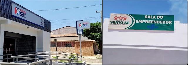 SENTO-SÉ: PONTO SAC E SALA DO EMPREENDEDOR SÃO INAUGURADOS