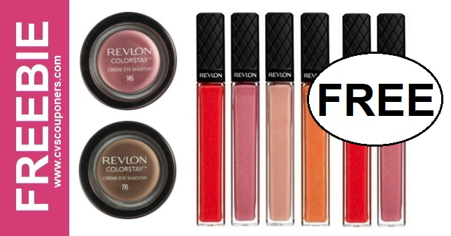 FREE Revlon Makeup CVS Deals - 7/28-8/3