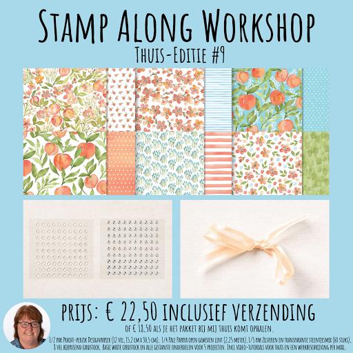 Bestel nu de nieuwste Stamp Along Workshop Thuis-Editie #9