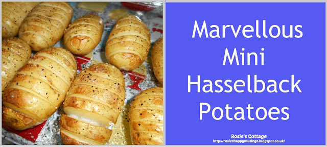 Marvellous Mini Hasselback Potatoes