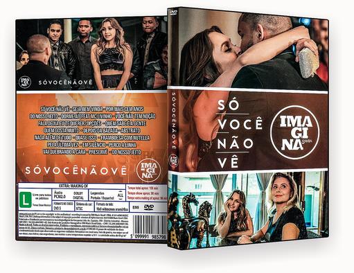 CAPA DVD – Imagina Samba Só Voce Não Ve – ISO