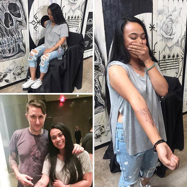 Tatuador ofrece tatuajes gratis si se animan a poner su brazo en un agujero