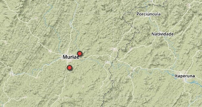 A terra tremeu novamente em Muriaé: fato aconteceu na madrugada de terça