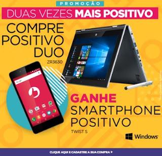 Cadastrar Promoção Positivo 2017 Duas Vezes Mais Positivo