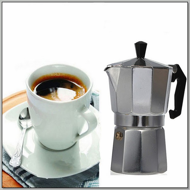 A Percolating Coffee Pot