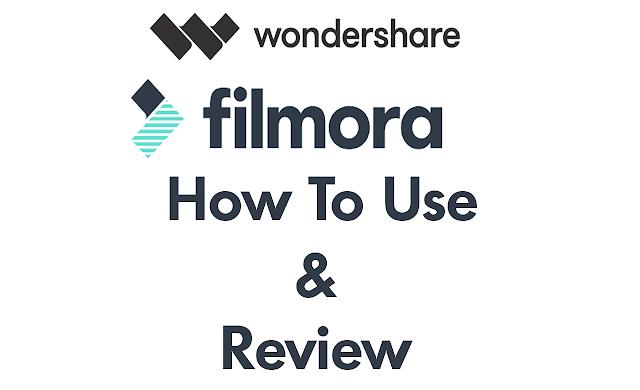 How To Use Wondershare Filmora - Walkthrough - Full Review