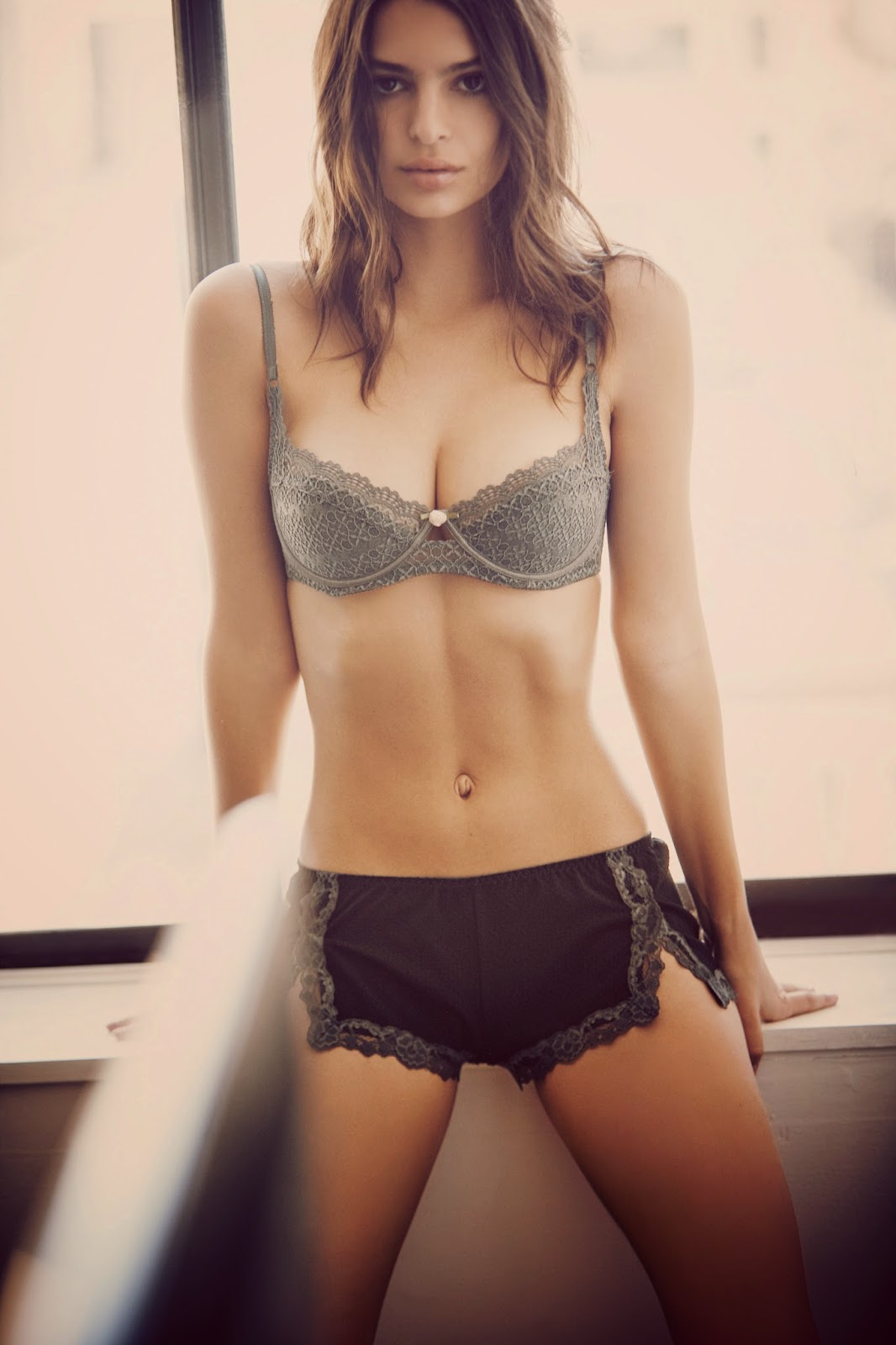 Emily Ratajkowski's Hotness Is Top Notch