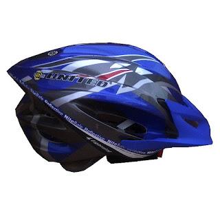 helm sepeda polygon murah