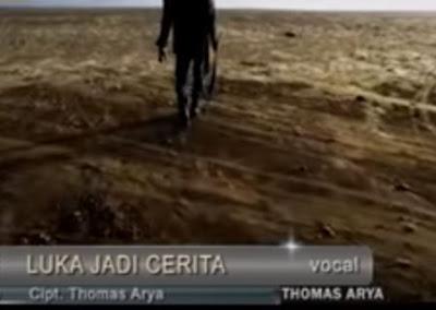Lirik Lagu Pof Malaysia Thomas Arya - Luka Jadi Cerita