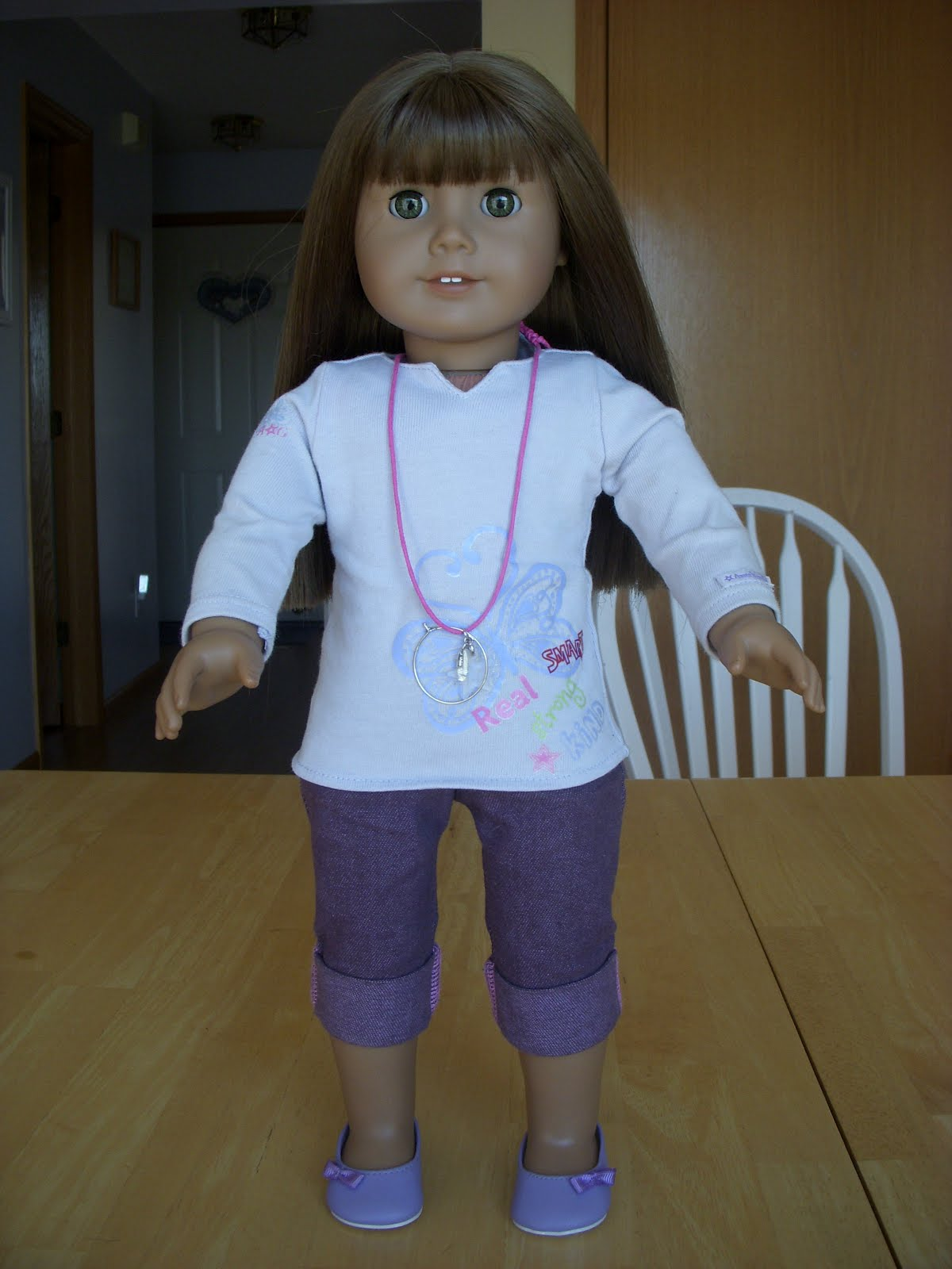 First American Girl Doll
