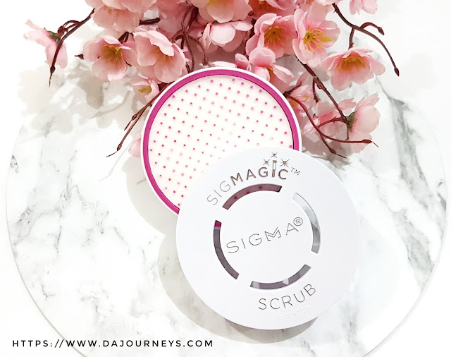 [Review] Sigma Sigmagic Scrub Solid Makeup Brush Cleanser