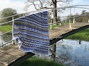 Sea side stash busting blanket