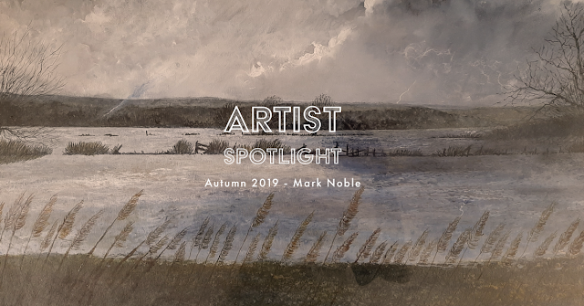 artist spotlight autumn 2019, Mark Noble, Somerset, Artist, Mark Taylor,