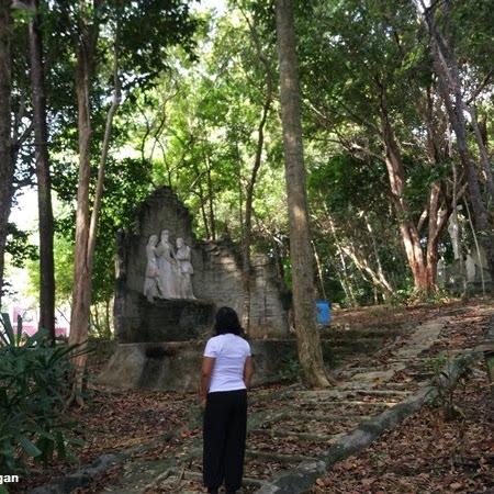 Visiting Goa Maria in Bintan Island