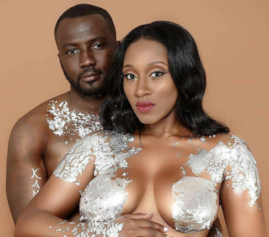 Slay couple release maternity shoot pic...with the lady naked