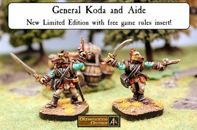 General Koda and Aide very limited edition released!