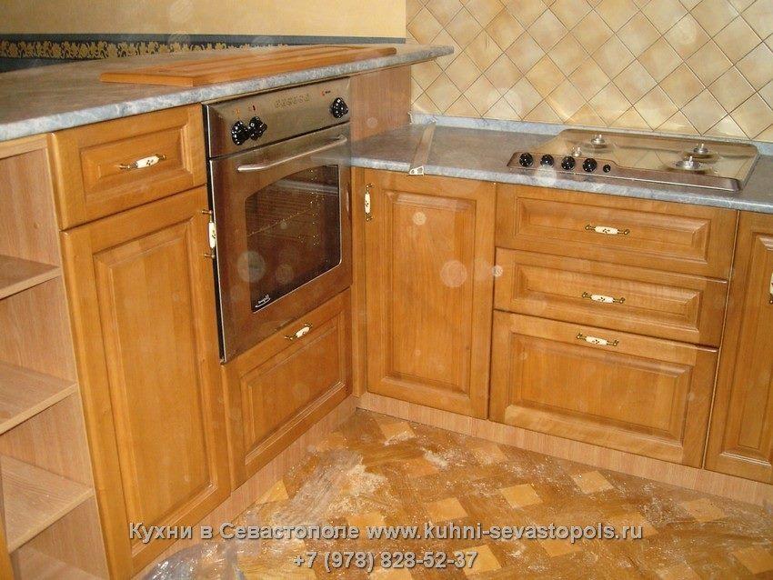 Кухни из массива Севастополь