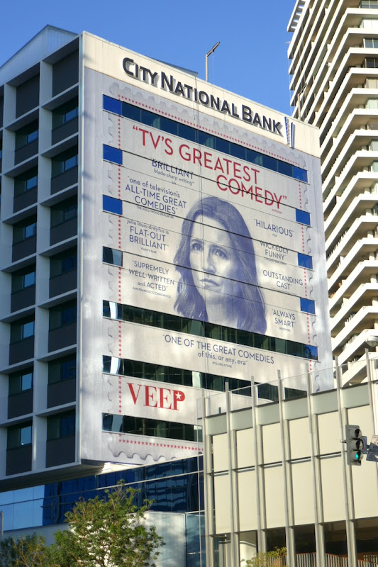 Veep final season HBO FYC billboard