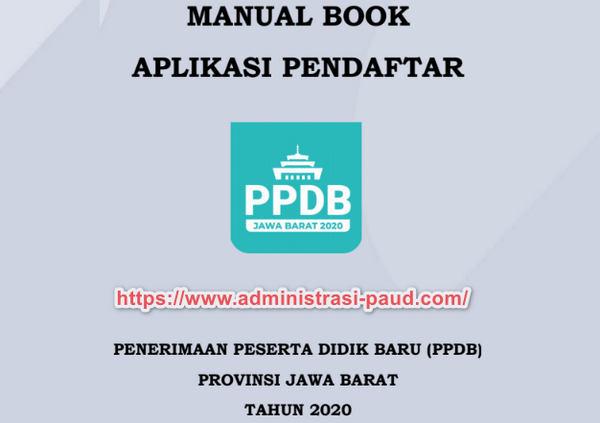 Buku Panduan Pendaftar PPDB 2020 Jawa Barat