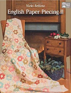 ENGLISH PAPER PIECING-HAND PIECING-HEXIE-QUILT