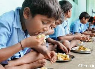 The School Education Department has issued guidelines for the preparation of lunch from cooking to serving
