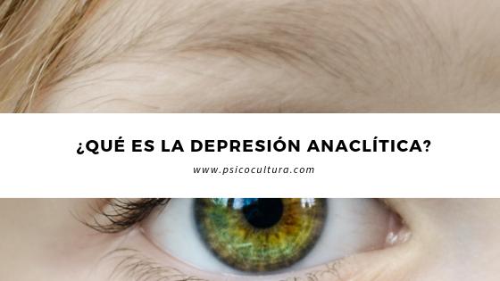 ¿Qué es la depresión anaclítica?
