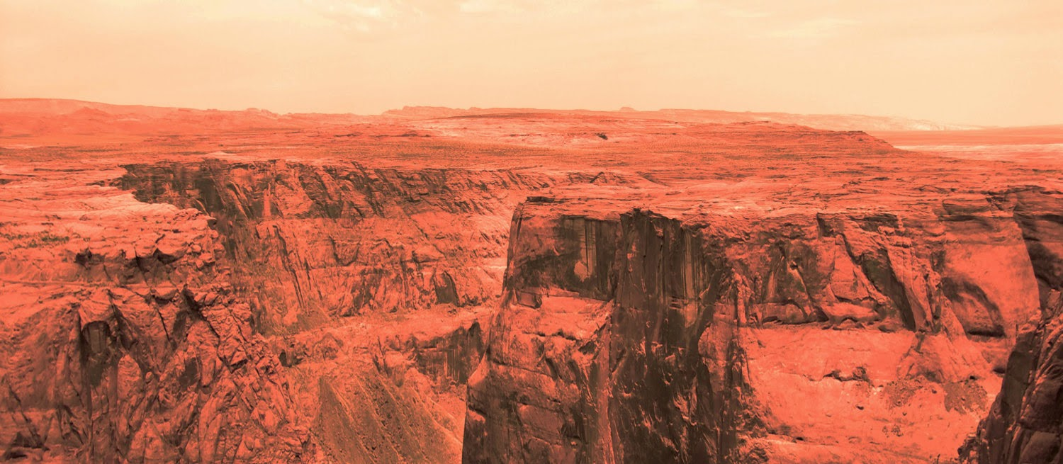 human Mars: Mars landscapes by Ludovic Celle