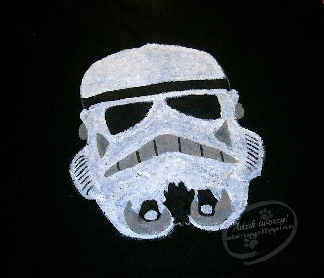 szturmowiec Star Wars ręcznie malowany