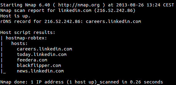 Nmap 6 40 released: How to install and some examples using