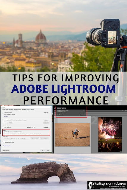 Tips for improving the performance of Lightroom Classic CC