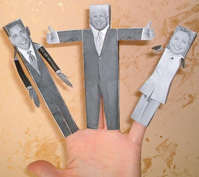 Origami presidenziali americane 2008
