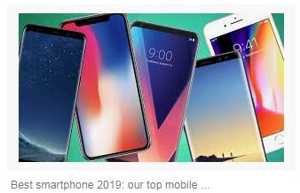 Top 5 BEST Smartphones of 2019