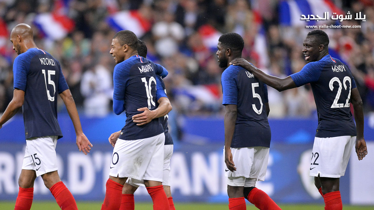 مباراة فرنسا وتركيا