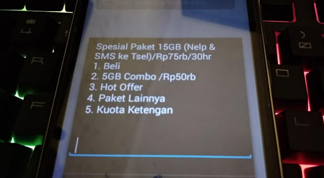 Harian unlimited package on mytelkomsel app starting from rp6,000 only and enjoy the best internet network from telkomsel using unlimited quota. Cara Beli Kuota Harian Telkomsel 1GB 3000 Youtube Facebook ...