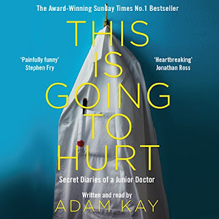 This is Going to Hurt: Secret Diaries of a Junior Doctor by Adam Kay audiobook cover
