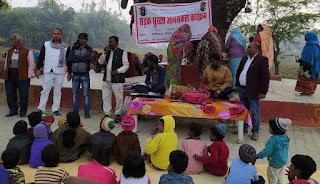 नेहरू समाजोत्थान सेवा समिति ने 10 दिवसीय सड़क सुरक्षा जागरूकता कार्यक्रम को किया संपादित | #NayaSaberaNetwork