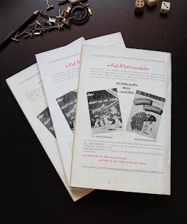 Werbung für Rätselhefte des Semrau Verlags
