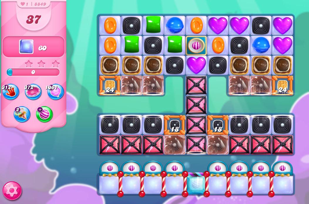 Candy Crush Saga level 8849