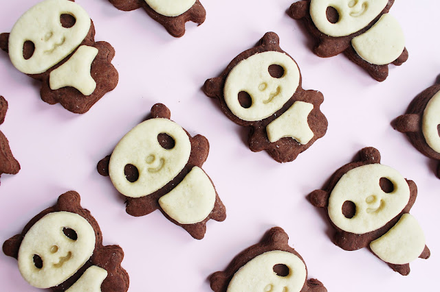Panda cookie army