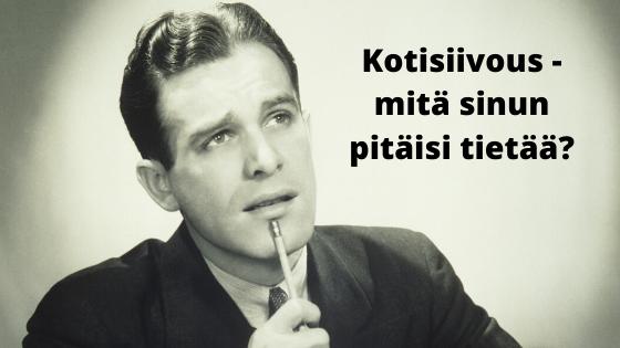 Vastauksia kysymyksiin kotisiivouksesta Tampereella - näitä et uskalla kysyä