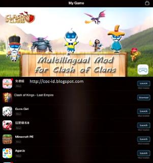 XModGames untuk Clash of Clans