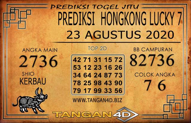 PREDIKSI TOGEL HONGKONG LUCKY 7 TANGAN4D 23 AGUSTUS 2020