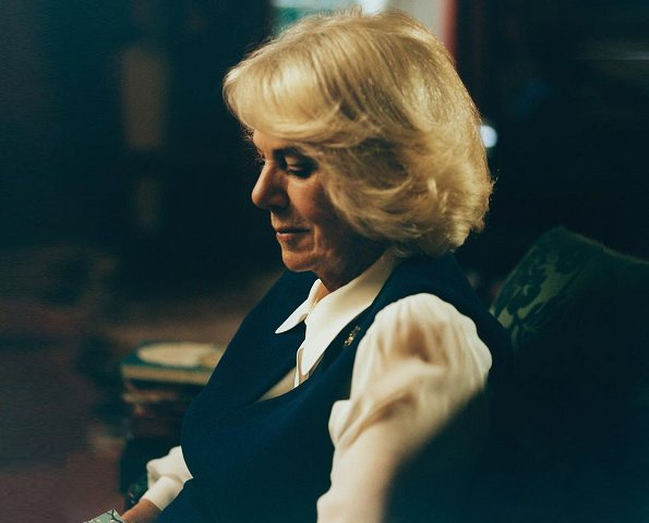 The Duchess of Cornwall has released a new portrait to mark the launch of her Reading Room project