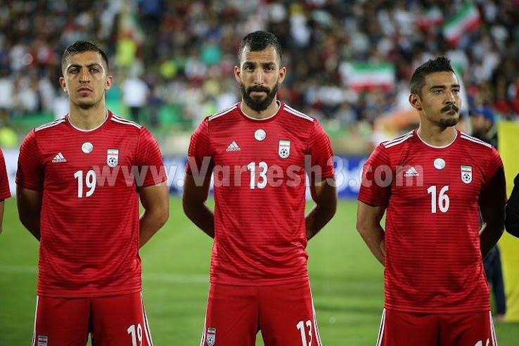 0e762c102e0 Boring With A Nice Detail - Adidas Iran 2018 World Cup Away Kit ...