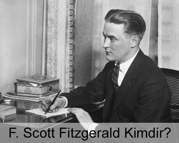 F. Scott Fitzgerald Kimdir?