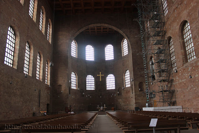 Konstantin Basilica Roman Monuments in Trier UNESCO Germany