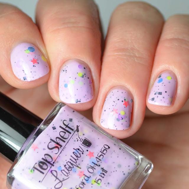 purple crelly nail polish
